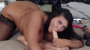 Adorable plumper Taylor Marie with huge melons n big butt